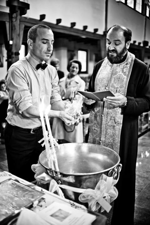 Taufe in Stuttgart - griechisch orthodox Kirche Fotograf