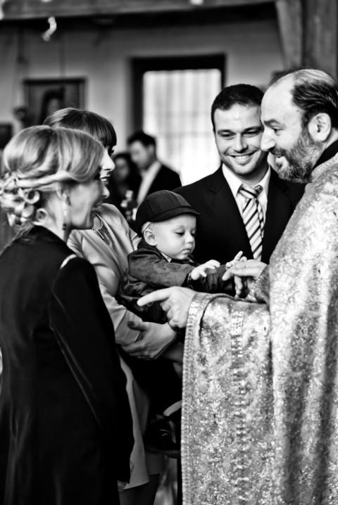 Taufe in Stuttgart - griechisch orthodox Kirche Fotograf - Euripidis Photography